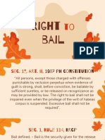 Right to Bail