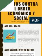 Delitos contra el orden económico y social