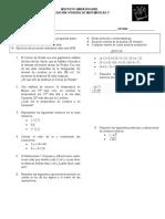 Examen 7 Matematicas.