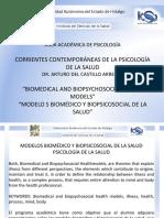 DIFERENCIAS ENTRE EL MODELO BIOMEDICO Y EL PSICOSOCIAL