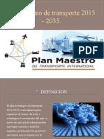 Plan maestro de transporte 2015 - 2035.pptx