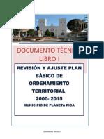 Documento Técnico Tomo 1 Planeta Rica