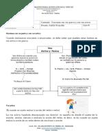 Español  Ciclo 4 -actividad 3° Periódo