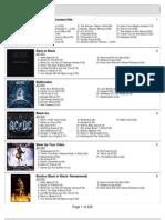 Kevs MP3 List Feb 2011