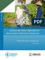Chaines de valeurs agricoles et genre