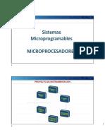 CLASE 15 Microprocesadores