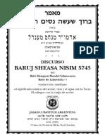 Maamar Baruj Sheasa Nisim 5743