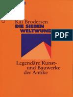 Legendäre Kunst- und Bauwerke der AntikeDie sieben Weltwunder (Beck Wissen).