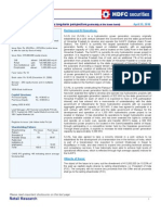SJVN Ltd IPO Note HDFC Sec