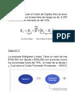 14 WACC - CASOS PRACTICOS