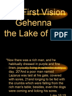 Gehenna - The Lake of Fire - Preached at Open Door Christian Fellowship February 6, 2011