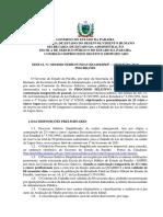 EDITAL Nº 029-2020 - PROCESSO SELETIVO SEDH-FUNDAC-SEAD-ESPEP - AGENTE SOCIOEDUCATIVO