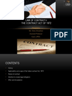 1 Law of contract-I