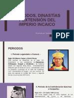 Periodos, Dinastías y Extensión Del Imperio Incaico