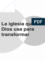 CAP 1 La iglesia que Dios usa para transformar