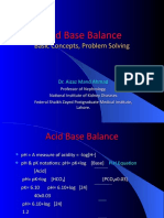 Acid Base Balance PSN LHR