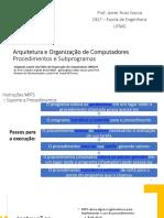 5. Procedimentos e Subprogramas