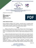 Derecho de petición COVID-19