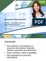 os eua na economia internacional