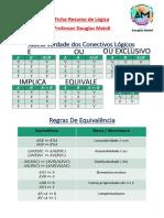 Microsoft Word - Ficha Resumo de Lógica - Prof. Douglas Maioli