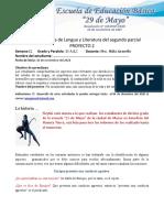 10  semana 13Ficha Pedagógica de Lengua y Literatura segundo parcial