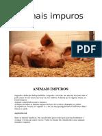 10 Animais impuros - Artigo.pdf