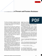 Formation Pore Pressure and Fracture Resistance