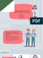 Anorexia - Exposición - Psicoterapia de Grupo .