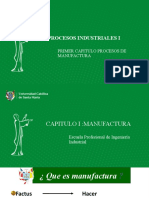 (1) INTRODUCCION APROCESOS DE MANUFACTURA