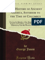 The History of Ancient America Anterior to the Time of Columbus
