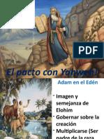 El pacto con Yahweh