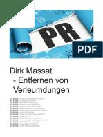 Dirk Massat - Verleumdungen Dirk Massat
