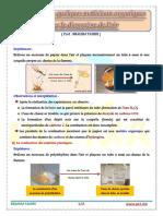 Réactions de quelques matériaux organiques avec le dioxygène de l'air - prof.TAHIRI (www.pc1.ma)