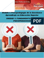 Fundamentos de la psicopedagogía