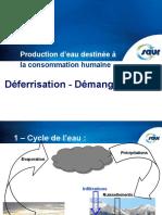 D+®ferrisation - D+®manganisation