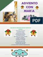 ADVIENTO CON MARIA CUARTO  DE SECUNDARIA