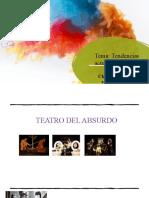 Tema Tendencias actuales del teatro Viernes 20.nov.2020