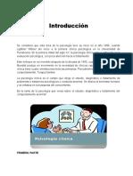 TAREA 1 PSICOLOGIA CLINICA 1