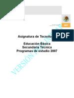 Programa de Tecnología 2007