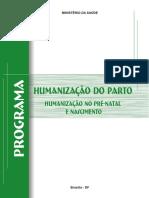 Programa de Humanização no PN e nascimento