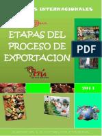 ETAPAS DEL PROCESO DE LA EXPORTACION