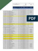 Formato Modelo Lista Maestra de Documentos 2019