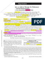8 - 2013 - imatinib mesylate as add-on therapy for PAH - IMPRES, Hoeper [11] 460