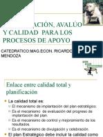 PLANIFICACION Y PROCESOS DE APOYO