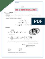 CEBA ÁLGEBRA Matrices
