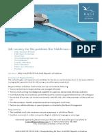 Kagi Maldives - Job Advertisement External 04122020
