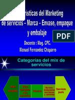Marca - Servicios - Envase