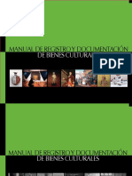 MANUAL CNCR registro de bienes culturales