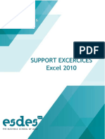 Septembre SUPPORT EXCERCICES Excel 2010.pdf
