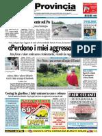 La Provincia Pavese 25 Agosto 2010